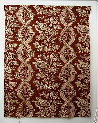 Antique Beautiful Late 18th/Early 19th C. French Block Print on Linen (8841)