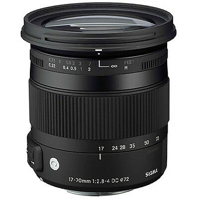 Sigma 17-70mm f/2.8-4 DC OS HSM Contemporary Lens - Nikon Fit