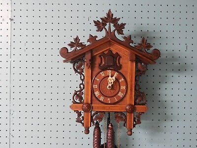 BAHNHAUSLE Antique cuckoo clock 1900's used