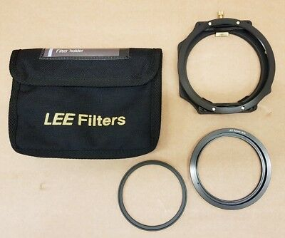 (pa2) LEE Filters 100mm System Holder + 82mm WA fit plus 77-82mm Lens Adaptor