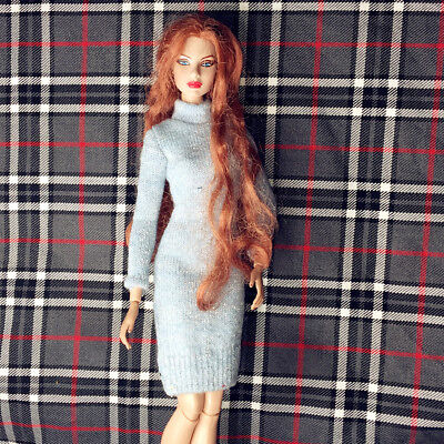 handmade sweater outfit dress for fashion royalty silkstone barbie dolls 4