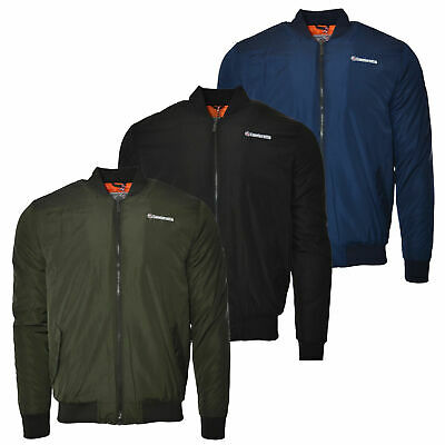 Mens Lambretta Classic MA1 Flight Bomber Mod Ska Badged Jacket Sizes S to 4XL