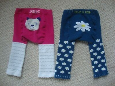 Joules and Blade and Rose baby girl's leggings 6-12