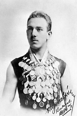 Alfred Hajos †★died★HUN★Swimming★Olympiasieger 1896★Autogramm★Foto★Groß★A4★20x30