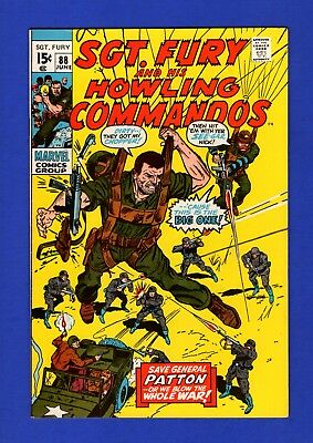 Sgt. Fury And His Howling Commandos #88 Nm- Glossy High Grade Bronze Age Marvel