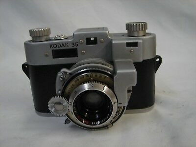 Rare Vintage 1940's Kodak 35 Rangefinder Rf Camera Parts Repair Or Prop