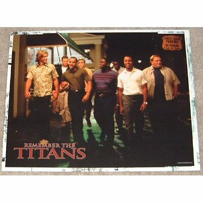 Remember The Titans movie poster print  # 3 - American Football - 11 x 14 inches