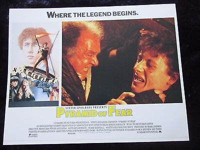 Young Sherlock Holmes and the Pyramid Of fear lobby card # 4