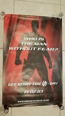 Daredevil movie poster - Ben Affleck - 20 x 30 inches - Who Is The Man?