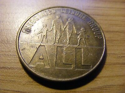 Associated Leisure Group All 10 Pence Token - nice condition - 27mm Dia