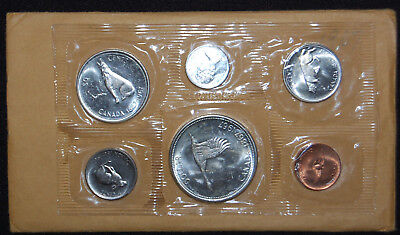 1967 Canadian Prooflike Set, Confederation Centennial