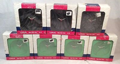 Joblot/Bundle Of 7x Lorus Beep Alarm Clocks **Carboot Resale**