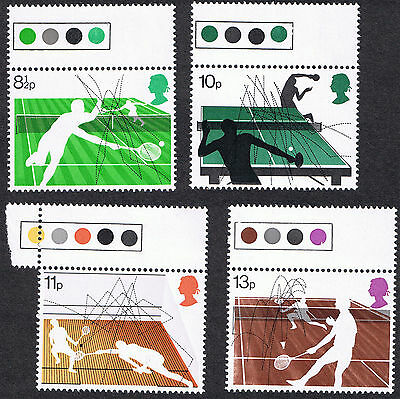 Racket Sports MINT Stamps 1977 with Traffic Lights.