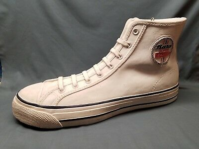 Vintage Bata Chuck Taylor Converse Super Bullet Sneaker Advertising Shoe LARGE!