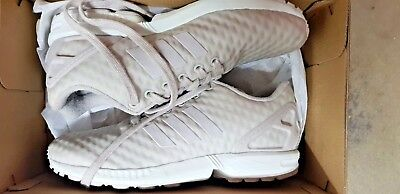 Adidas Flux Grey Trainers Boxed And Only Worn Once Size 6