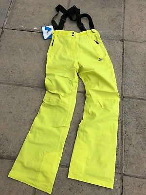 Brand New Ladies, Dare2B Ski Trousers, Neon Spring, Size 10