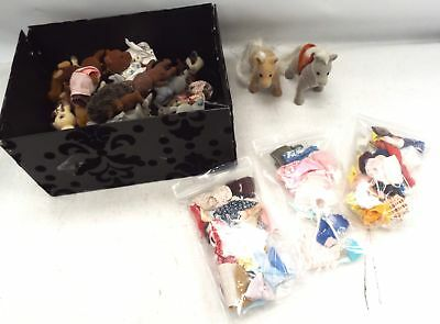 Collection of Approx 75x SYLVANIAN FAMILIES Character Figures & Clothing - S86