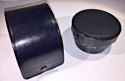 Panagor Varioprox variable close-up lens attachment, Ser VII 49mm adapter & case