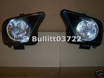 2007 2008 2009 Shelby Gt500 Gt 500 Halogen Headlights Left & Right