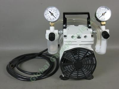 Welch Standard Duty 2534B-01 Vacuum Pump WOB-L 115V 60Hz 5.3 Amp Powers On Works