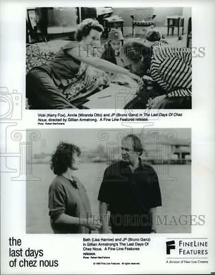 """1993 Press Photo cenes from """"The Last Days Of Chez Nous"""" - spp41155"""