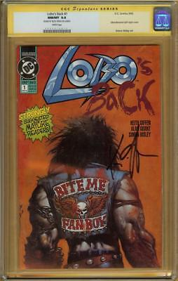 Lobo's Back #1 CGC 9.8 Signature Series KIETH GIFFEN  #0060614015