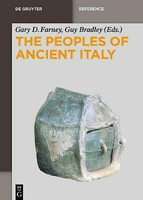 The Peoples of Ancient Italy Hardcover Book Free Shipping!