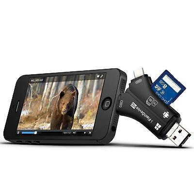 Trail Camera Viewer for iPhone iPad Android SD Micro SD Memory Card Reader