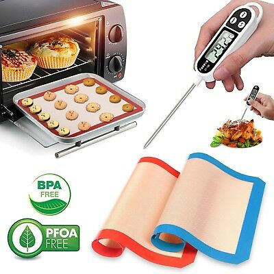 Premium Digital Thermometer BPA Free Baking Mat For BBQ Baking Grill Toronto