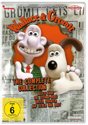 Wallace & Gromit - the Complete Collection - Concorde 1808 - (DVD Video / Animat
