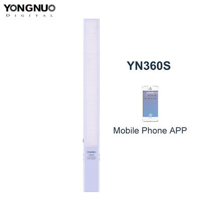 YONGNUO YN360-S Thin 5500K Handheld Pro LED Video Light with Phone APP Control