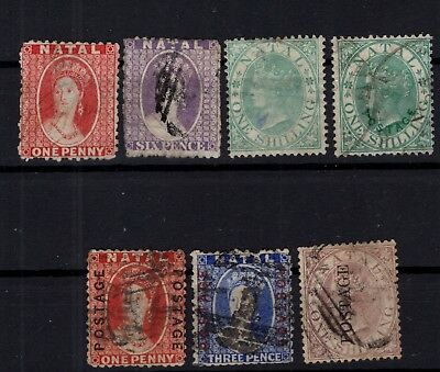 P87693/ NATAL / SG # 21x – 23 – 25 – 59 / 61 - 63 OBL / USED 195 €