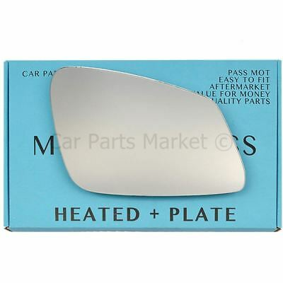 FITS TOYOTA AYGO 2012 DOOR WING MIRROR GLASS CONVEX BACK PLATE LEFT