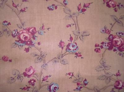 NEW AUTUMN STOCK, LATE 19th CENTURY FRENCH COTTON CHINTZ, REF 144.