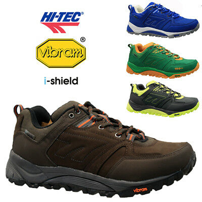 New Mens Hi Tec Leather V-Lite Vibram Walking Hiking Winter Boots Shoes Trainers