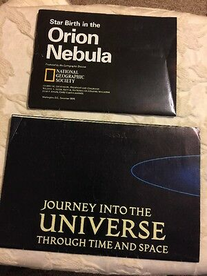 National Geographic Insert Journey into the Universe 1983 Orion Nebula 1995 Maps