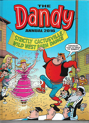 The Dandy Annual 2016 Desperate Dan Korky the Cat etc excellent as new SALE £1