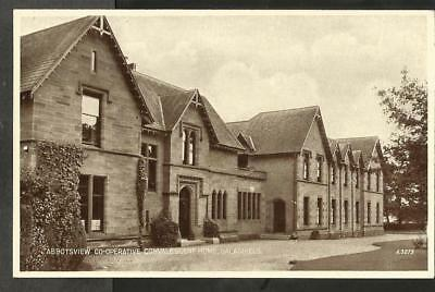 KCP Early Postcard, Abbotsview Convalescent Home, Galashiels