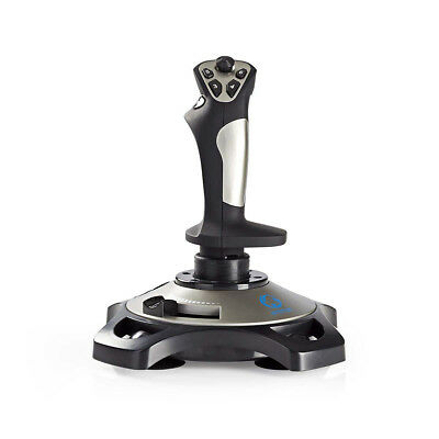 Nedis Gaming Joystick Force Vibration USB Powered Works with USB devices