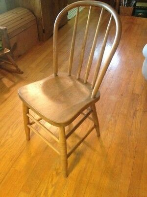 Antique Wooden Chairs Set of Four
