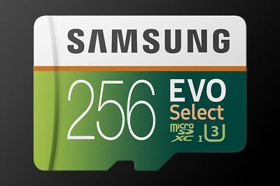 Samsung Evo Select 256Gb 100Mb Micro Sdxc Card Plus Mb-Me256Ga/am