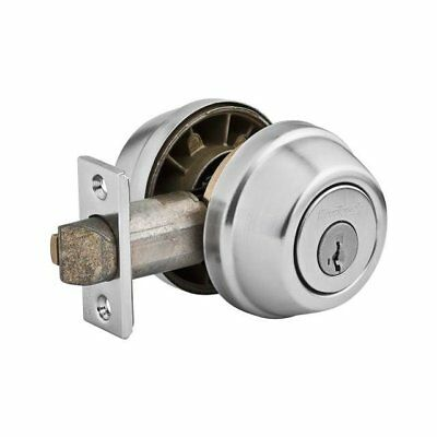 Kwikset Gatelatch Double Cylinder Deadbolt featuring Smartkey