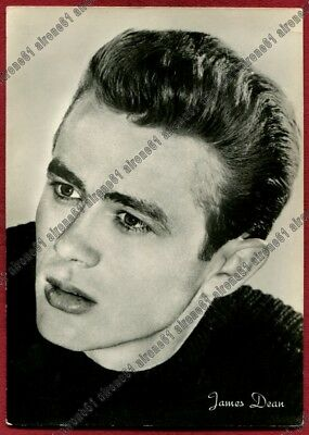 JAMES DEAN 11b ATTORE ACTOR ACTEUR CINEMA MOVIE Cartolina REAL PHOTO