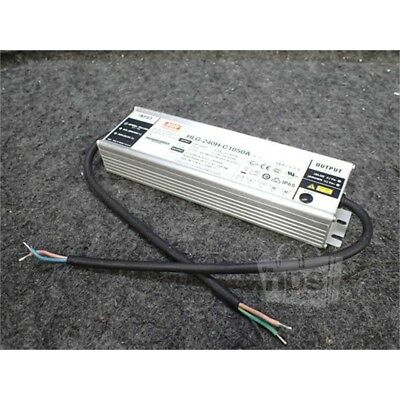 Mean Well HLG-240H-C1050A LED Power Supply, 100-240/277VAC, 249.9W, 238VDC