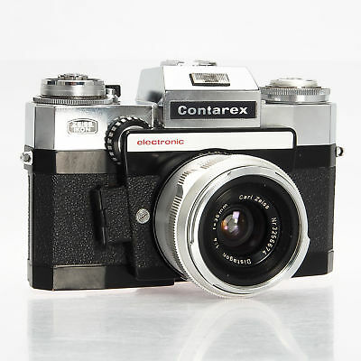 Contarex Zeiss IKON Electronic w/ 35mm Distagon F4 Manual Focus Film Camera Rare