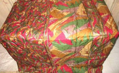 Multi-color Pure Silk 4 yd Vintage Antique Sari Saree Ladies Hindu Cheap #9A2EW