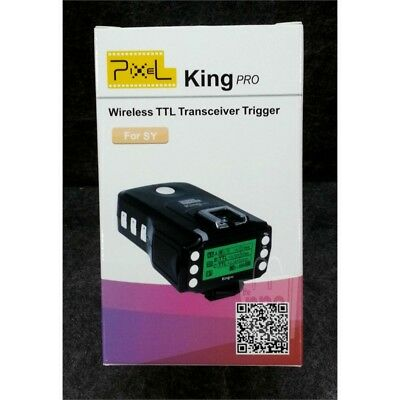 Pixel King PRO Wireless TTL Transceiver Trigger for Sony/Canon/Nikon Cameras