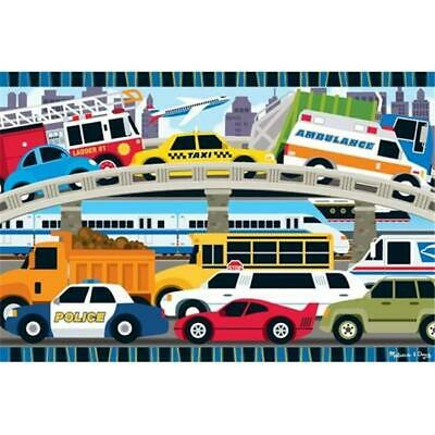 Melissa  Doug 4421 Traffic Jam Floor Puzzle 2 ft.x3 ft.