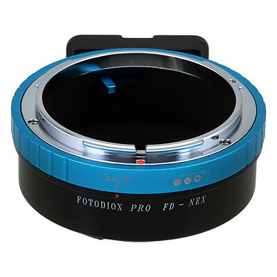 Fotodiox Pro Lens Adapter Canon FD and FL Lens to Sony E-Mount/NEX