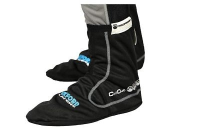 Oxford Chillout Windproof Motorcycle Socks Black Medium LA431